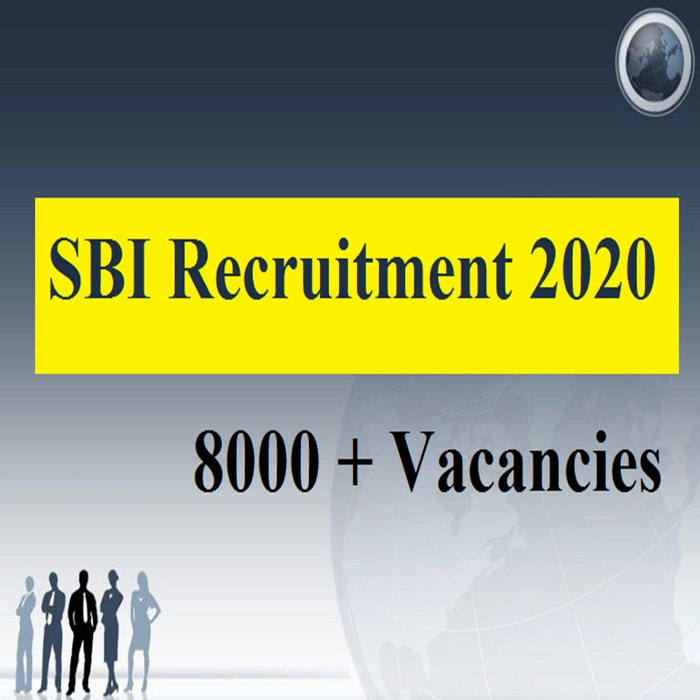 SBI Recruitment 2020: рднрд╛рд░рддреАрдп рд╕реНрдЯреЗрдЯ рдмреИрдВрдХ SBI рдореЗрдВ 8000 рдкрджреЛрдВ рдкрд░ рдирд┐рдХрд▓реА рднрд░реНрддрд┐рдпрд╛рдВ, рдкрдврд╝реЗрдВ рдпреЛрдЧреНрдпрддрд╛, рд╡реИрдХреЗрдВрд╕реА, рдЖрд╡реЗрджрди рд╕рдореЗрдд 10 рдЦрд╛рд╕ рдмрд╛рддреЗрдВ